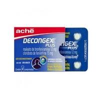 Decongex Plus 12mg + 15mg, blíster com 4 comprimidos revestidos de liberação prolongada