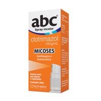 ABC 10mg/mL, caixa com 1 frasco spray com 30mL de solução de uso dermatológico