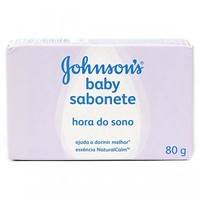 Sabonete Johnson's Baby Hora do Sono barra com 80g