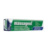 Massageol 0,333mL + 0,333g + 0,0083g, tubo aerossol com 120mL de solução de uso dermatológico