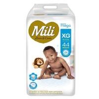 Fralda Mili Love&Care - XG, 44 unidades