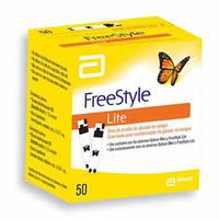 Tiras-Teste FreeStyle Lite 50 unidades