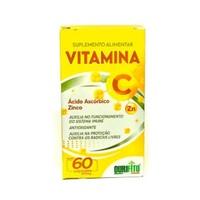 Vitamina C + Zn Ourifito 500mg, caixa com 60 cápsulas