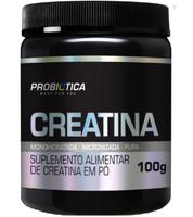 Creatina Pura Mono-Hidratada Professional Probiótica 100g