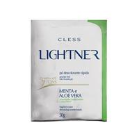 Pó Descolorante Lightner menta e aloe vera, 50g