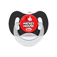 0 a 6 meses, Mickey, preto e vermelho