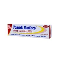 Pomada Santheo 20%, caixa com 1 bisnaga com 20g de pomada de uso dermatológico