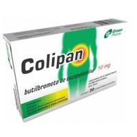 Colipan 10mg, caixa com 30 comprimidos revestidos