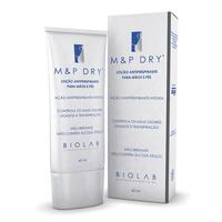 M&P Dry Antiperspirante para Mãos e Pés Biolab loção, 60mL