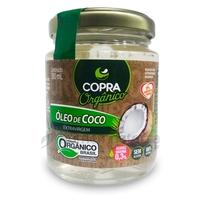 Óleo de Coco Orgânico Copra Extravirgem, 200mL