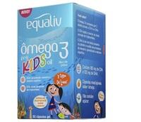 Ômega 3 Pro Kids Equaliv 60 Cápsulas