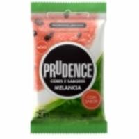 Preservativo Prudence Cores e Sabores melancia, 3 unidades