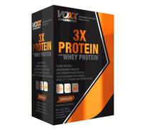3x Protein Whey Protein Voxx Nutracom Chocolate, 300g