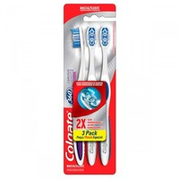Escova Dental Colgate 360º Luminous White 3 Unidades