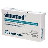 Sinumed frasco com 30 comprimidos