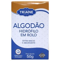 Algodão Triane hidrófilo, rolo, 50g