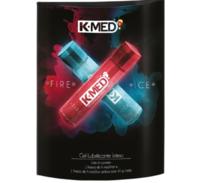Lubrificante Íntimo K-Med Fire & Ice frasco, 2 unidades com 40g cada