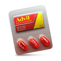 Advil 400mg blister com 3 cápsulas líquidas
