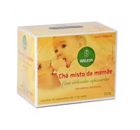 Chá Misto da Mamãe Weleda - Misto da Mamãe 22,5g com 15 Saquinhos