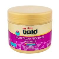 Máscara de Tratamento Hidratação Profunda Mega Brilho Niely Gold  - 430g
