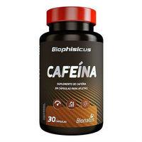 Cafeína Biophisicus - 420mg, frasco com 30 cápsulas