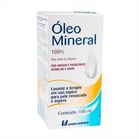 Óleo Mineral - União Química Frasco com 100mL