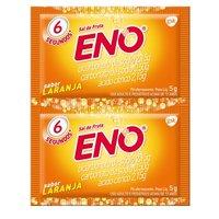 2 envelopes com 5g de pó efervescente de uso oral, laranja