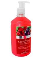 Sabonete Detagold - cranberry e ameixa, líquido, 490mL
