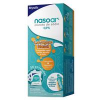 Nasoar 0,9%, caixa com refil de 30 envelopes com 2,160g de granulado para solução de uso nasal