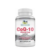 CoQ10 Best Nature 200mg, frasco com 60 cápsulas