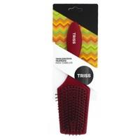 Escova de Cabelo Triss raquete, vermelho