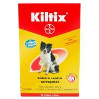 Coleira Kiltix Contra Carrapatos para Cães entre 8Kg e 19Kg com 48cm, 1 unidade