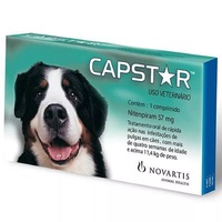 Antipulgas Capstar 57mg, para Cães acima de 11,4kg, 1 comprimido