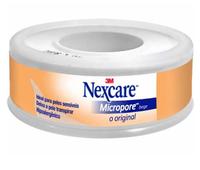 Esparadrapo Nexcare Micropore Bege, 12mm x 4,5m