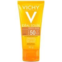 Protetor Solar Vichy Idéal Soleil Efeito Base - FPS 50, média, 40g