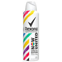 Desodorante Unisex Rexona Motionsense now united, aerosol, 150mL