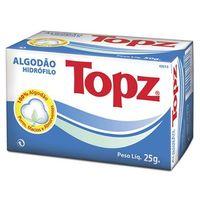 Algodão Topz rolo com 25g