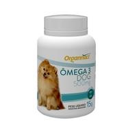 Omega 3 Dog Organnact 500mg, frasco com 30 cápsulas