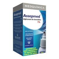 1%, frasco spray com 50mL de solução de uso dermatológico