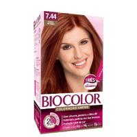 Tintura Creme Biocolor nº 7.44 cobre intenso