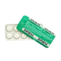 Aspirina 500mg, cartela com 10 comprimidos