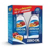 Adoçante Zero Cal Sucralose líquido, 100mL, + 50% desconto na 2ª unidade