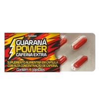 Guaraná Power Sanitas caixa com 4 cápsulas