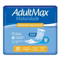 Absorvente Geriátrico Adultmax Maturidade 20 unidades