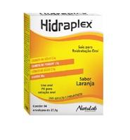 Hidraplex 4 envelopes com 27,9g de pó para solução de uso oral, sabor laranja