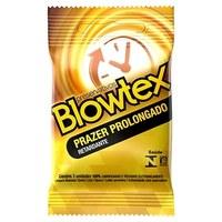 Preservativo Blowtex prazer prolongado, 3 unidades