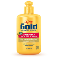 Creme Para Pentear Niely Gold Queratina - com 280g