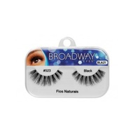 Cílios Postiços Kiss New York Broadway Eyes fios naturais,1 par, ref.523