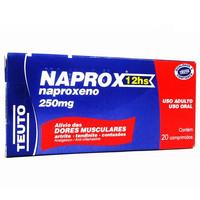 250mg, caixa com 20 comprimidos