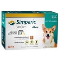 Simparic 10,1 a 20Kg, 40mg, caixa com 1 comprimido